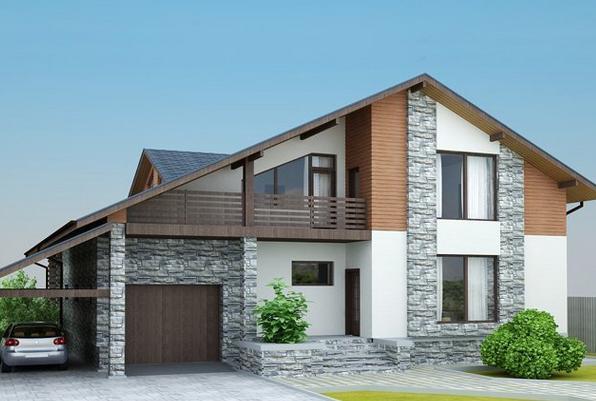 На что опираться при выборе фасада дома