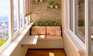 Чтобы балкон был уютным